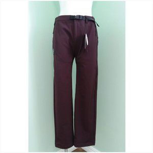 C.P. Company Burgundy BISTRETCH TWILL Pants SMALL